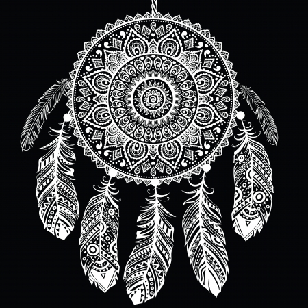 fastening: Ethnic Dream catcher