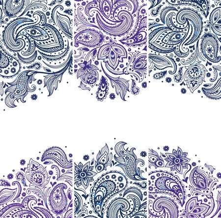 Set of Beautiful vintage ornate banners Stock Vector - 19895207