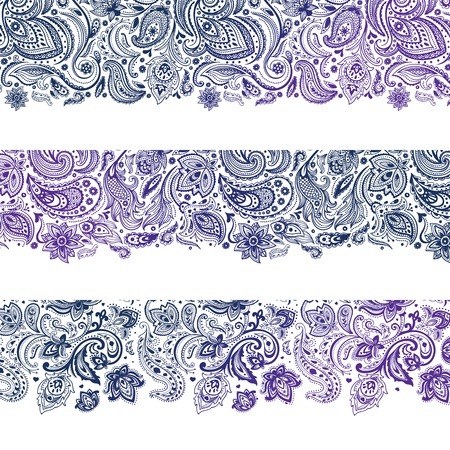 Set of Beautiful vintage ornate banners Stock Vector - 19895208