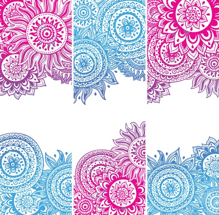 Set of Beautiful vintage ornate banners Stock Vector - 20073726