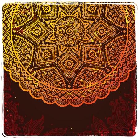 Beautiful ornament Vector
