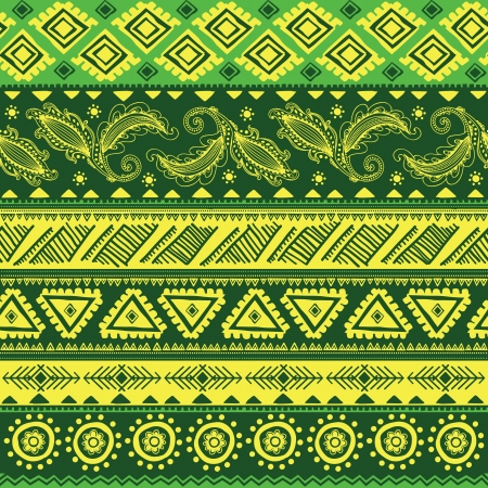 Abstract tribal pattern Иллюстрация