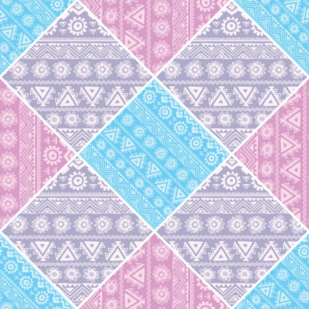 Abstract tribal pattern Illustration