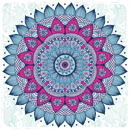 mandala: Beautiful ornament