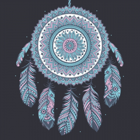 Ethnic Dream catcher photo