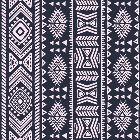Abstract tribal pattern Ilustrace