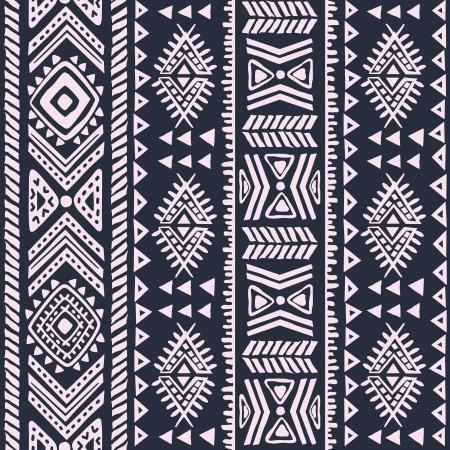 Abstrakte Stammes-Muster Illustration