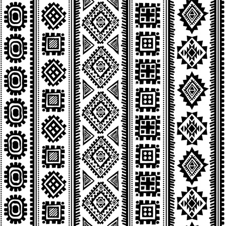 Tribal vintage ethnic pattern seamless illustration for your business Vector