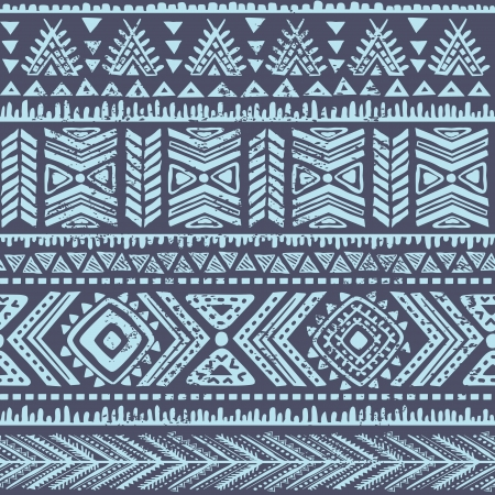persia: Abstract tribal pattern Illustration