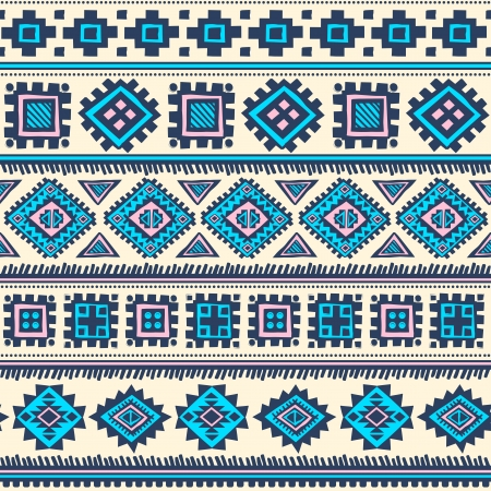 persia: Tribal vintage ethnic pattern seamless illustration