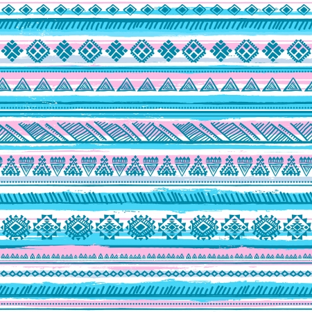 persia: Tribal vintage ethnic pattern seamless illustration for your business