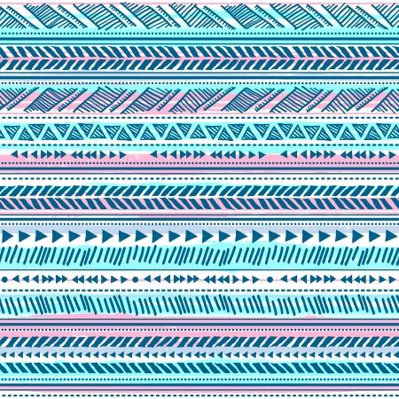 Tribal vintage ethnic pattern seamless illustration