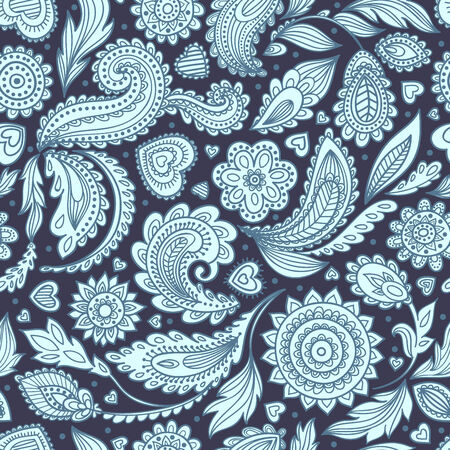 arabesque pattern: Beautiful vintage floral