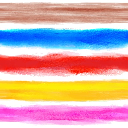 Watercolor vintage background with some stripes for your business Vector