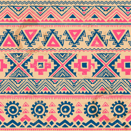 Tribal vintage ethnic seamless for your business