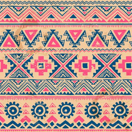 Tribale vintage etnische naadloze voor uw bedrijf