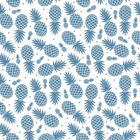 Vintage isoliert Ananas nahtlose für Ihr Unternehmen Illustration