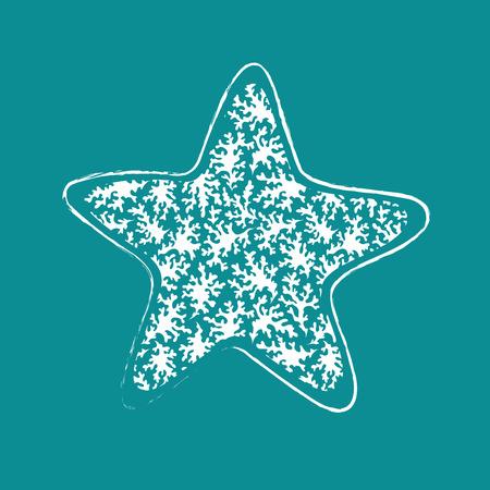 star fish: Vintage Ethnic star illustration for your business