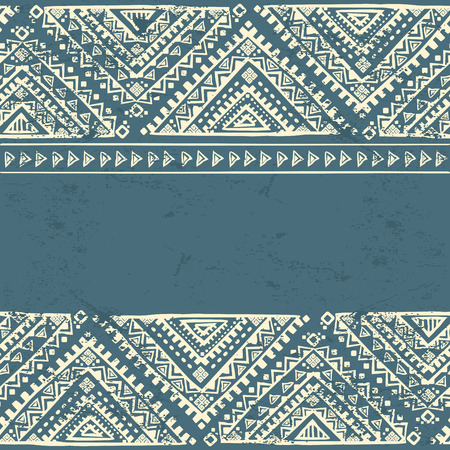 tribal pattern: Tribal vintage ethnic background for your business