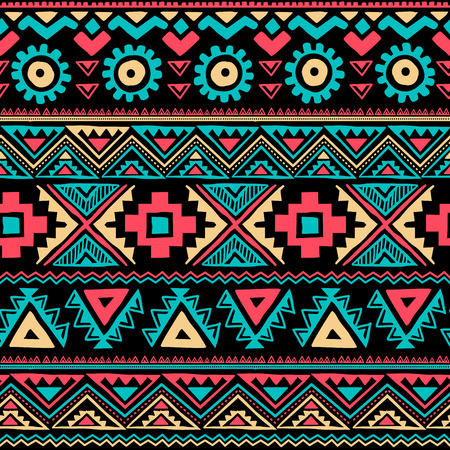 シームレスな部族のビンテージ エスニック
