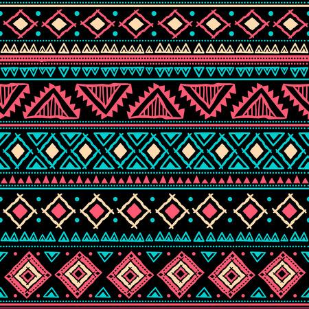 festive: Tribal vintage ethnic seamless
