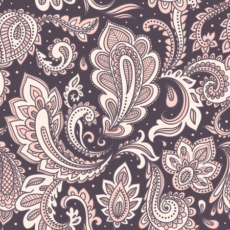 Beautiful floral seamless Vector