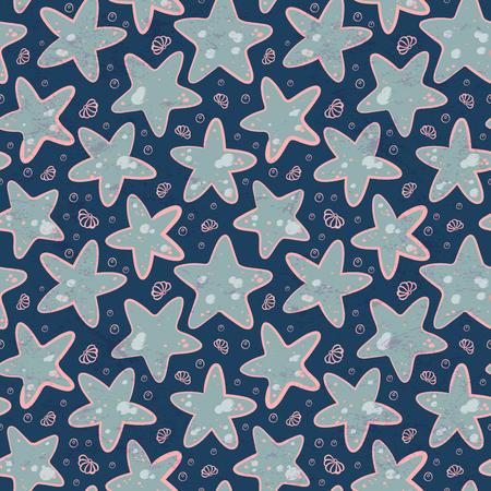 star fish: Vintage Ethnic star illustration