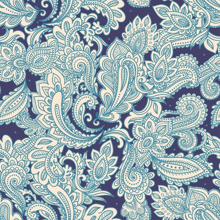 Beautiful floral seamless Vectores