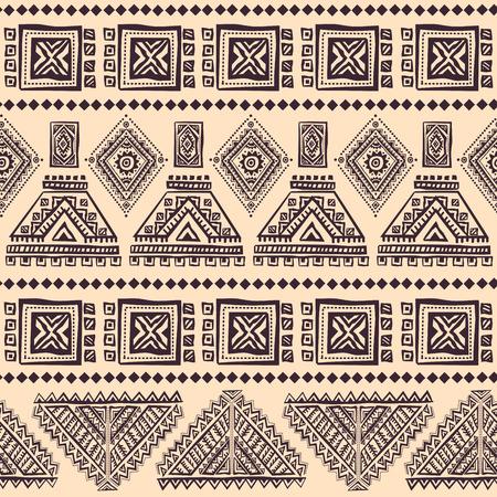 petal: Tribal vintage ethnic seamless