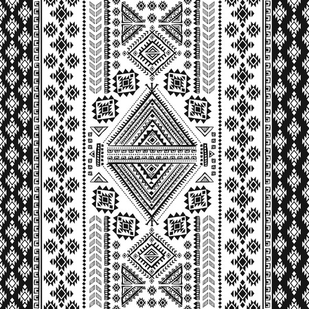 textile design: Tribal vintage ethnic seamless for your business