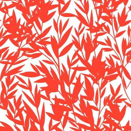 bamboo border: Vintage Bamboo seamless pattern for your business Illustration