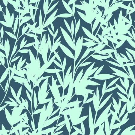 Vintage floral Bamboo seamless for your business  イラスト・ベクター素材