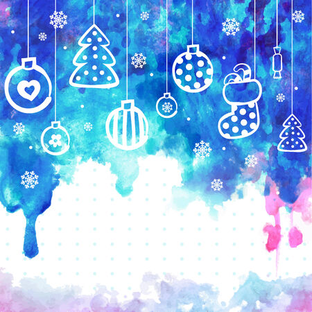 Christmas vector illustration can be used as a greeting card Vector