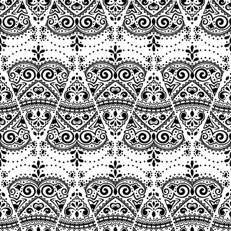 vectoe: Vectoe lace seamless ornament for your business