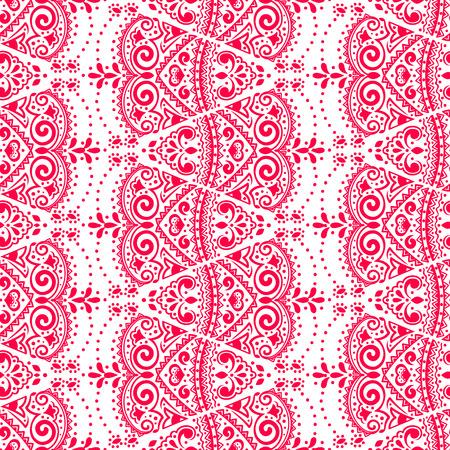 leaves pattern: Vectoe lace seamless ornament for your business