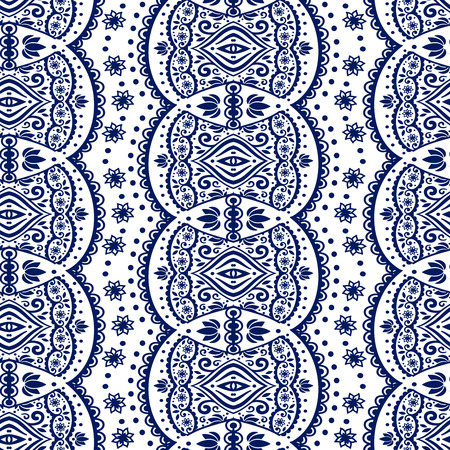 Vectoe lace seamless ornament for your business