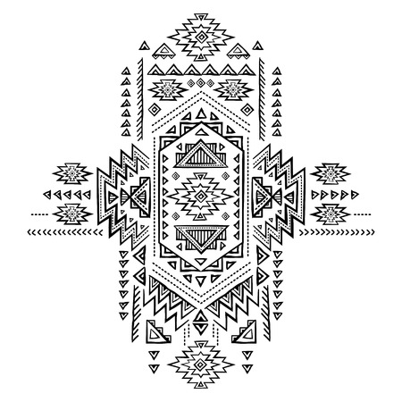 festive pattern: Tribal vintage ethnic background for your business