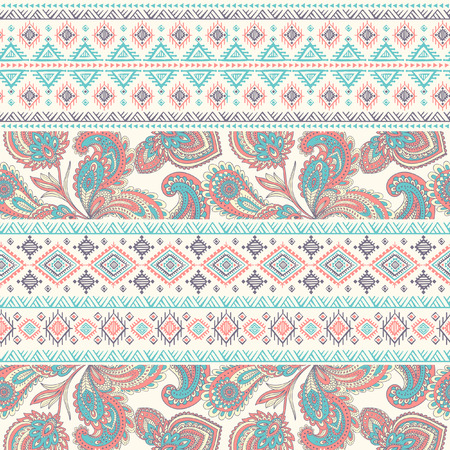tribal design: Tribal vintage ethnic seamless for your business