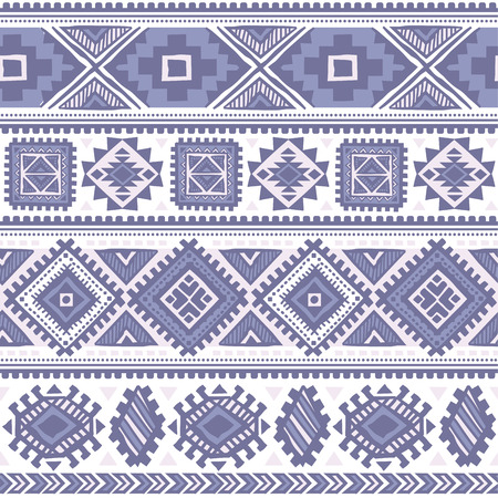 arabesque pattern: Vector Tribal Mexican vintage ethnic seamless pattern Illustration