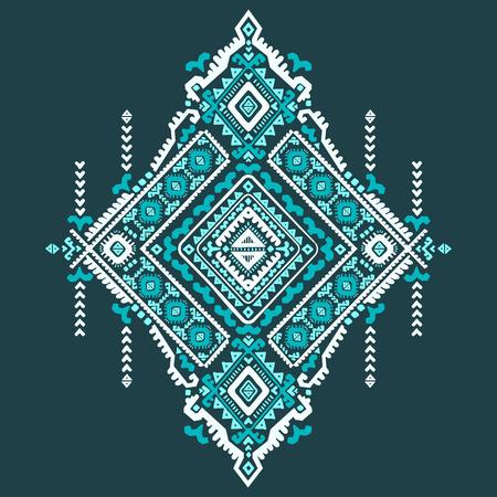 tribales: Vector Tribal Modelo incons�til de la vendimia �tnica mexicana