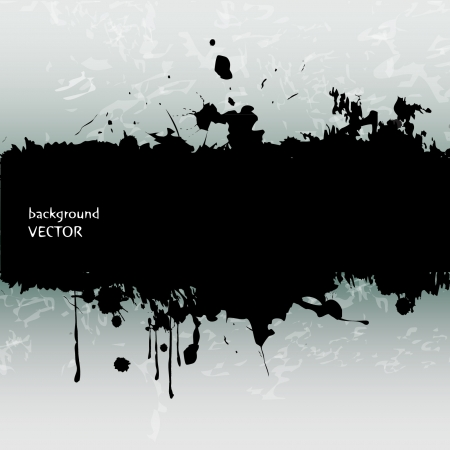 Grunge banner with place for text