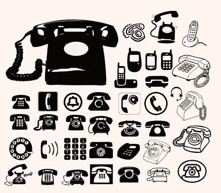 telefon: set phone