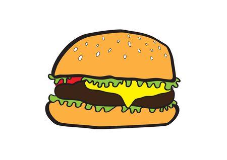 cheeseburger: The big cheeseburger