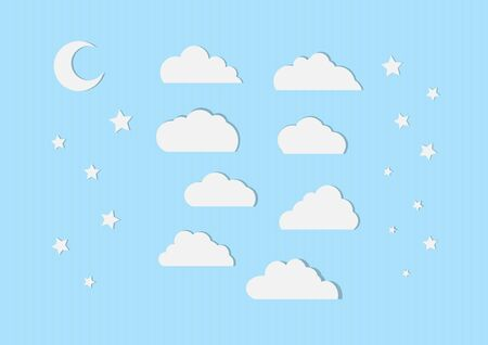illustration of clouds Illustration