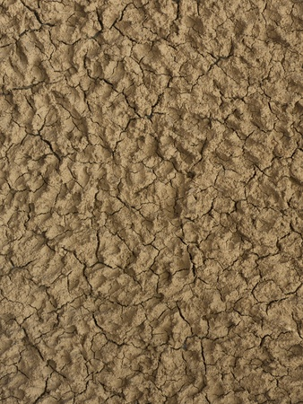 Clay plaster applied as decorative wall covering Stock Photo - 13338217