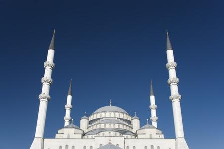 Kocatepe Moschee ist ein Wahrzeichen von Ankara, T�rkei