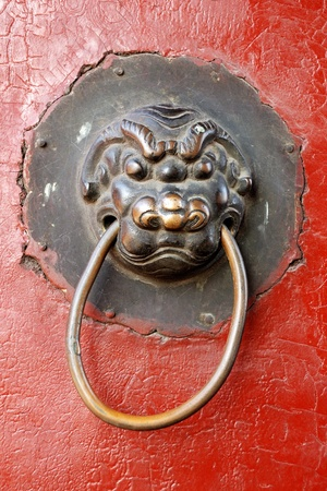 This is a detail from Imperial Palace of the Qing Dynasty in Shenyang