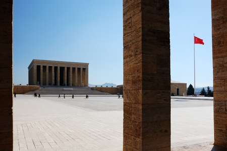 Mausoleum of Ataturk in Ankara, Turkey  Editorial
