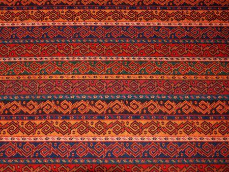Close-up von einem authentischen textile Muster aus Ankara, T�rkei.