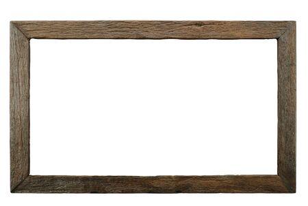 Isolierte Holzrahmen durch Holzverbrennung Technik hergestellt.